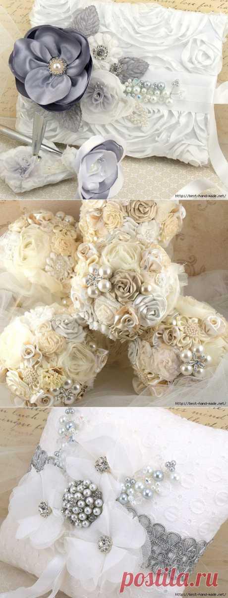 Роскошные цветочные украшения и аксессуары от Maricel Tewari.