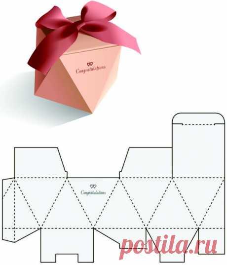 Делаем красивые коробочки для подарков — Сделай сам, идеи для творчества - DIY Ideas