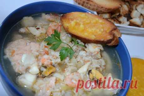 Как приготовить французский суп рыбаков буйабес