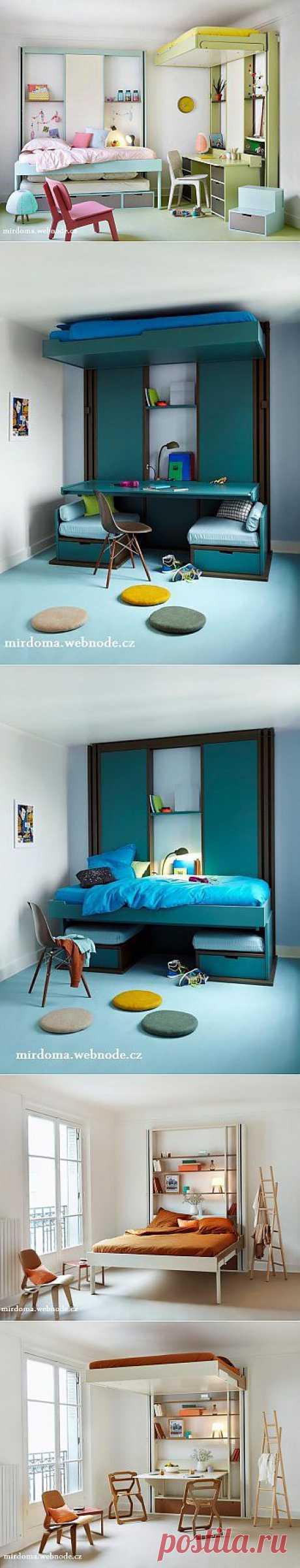 Кровать с подъемным механизмом :: Мир дома.