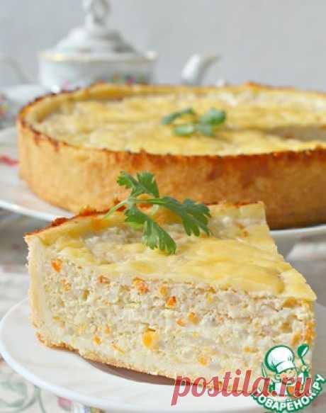"""Рыбный пирог """"Дежурный"""" - кулинарный рецепт"""