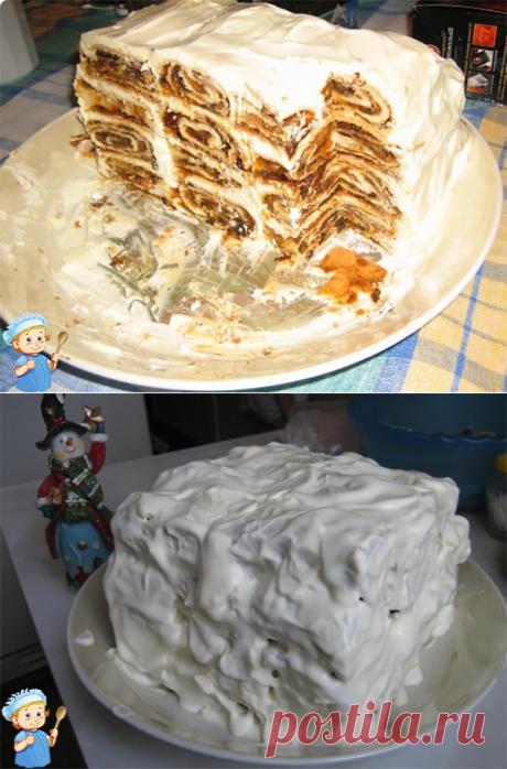 Домашний торт «Новогодний»