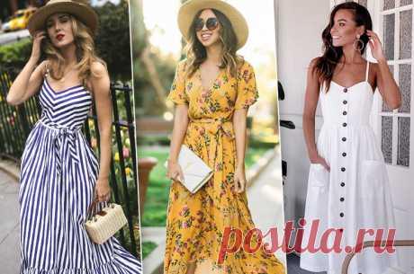 Летние платья: 7 фасонов, без которых этим летом никак | Журнал Cosmopolitan