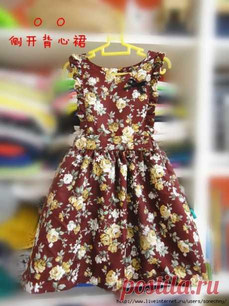 Платье для девочки. Несложный крой / IP Neo