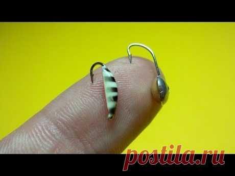 Как привязать две мормышки к леске   Зимняя рыбалка   Fishing Knots - YouTube
