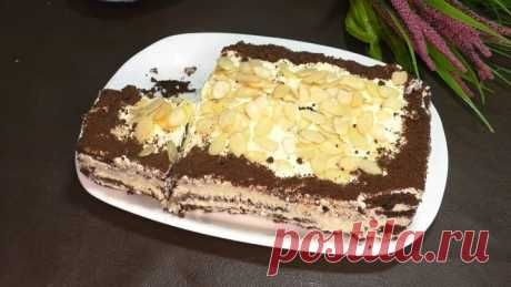 Быстрый торт без выпечки! Готовится за считанные минуты!😍
