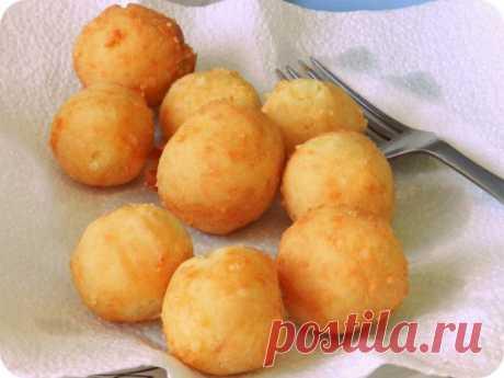 вкусные, необычные и ароматные ПОНЧИКИ из картофеля с сыром (без дрожжей!)