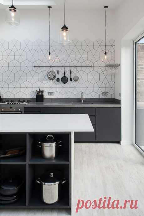 Кухонный фартук, как идеальное творение дизайнерской мысли: несколько невероятных идей по оформлению кухни