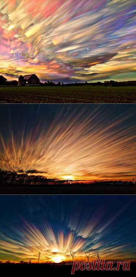 Новая серия фотографий потрясающих облаков Мэтта Моллойа