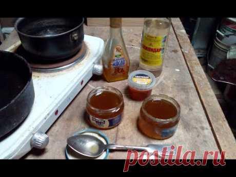 Варим масло для дерева (Cook the oil for wood)