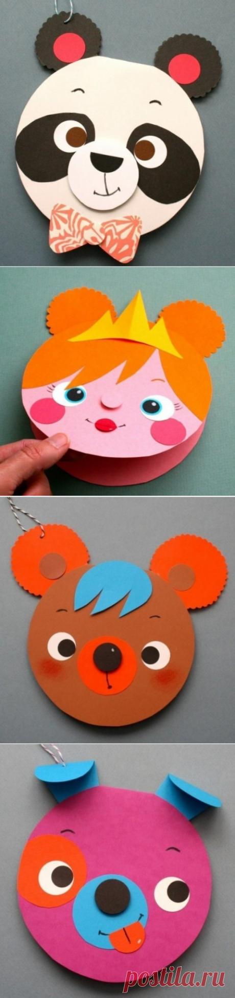 Мастерим открытки вместе с детьми - Поделки с детьми | Деткиподелки