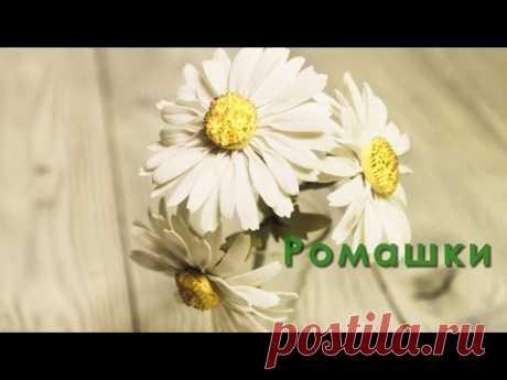 Como hacer las manzanillas de foamirana - poshagovyy el maestro la clase