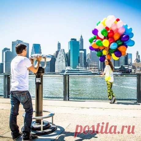 Behind the scenes: shootings of Follow me in New York
