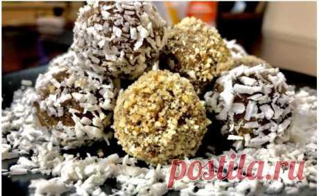 Полезные конфеты своими руками Вкусно, быстро и полезно!