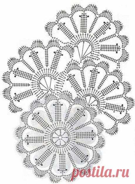 Схемы ленточного кружева для платьев, блузок и юбок