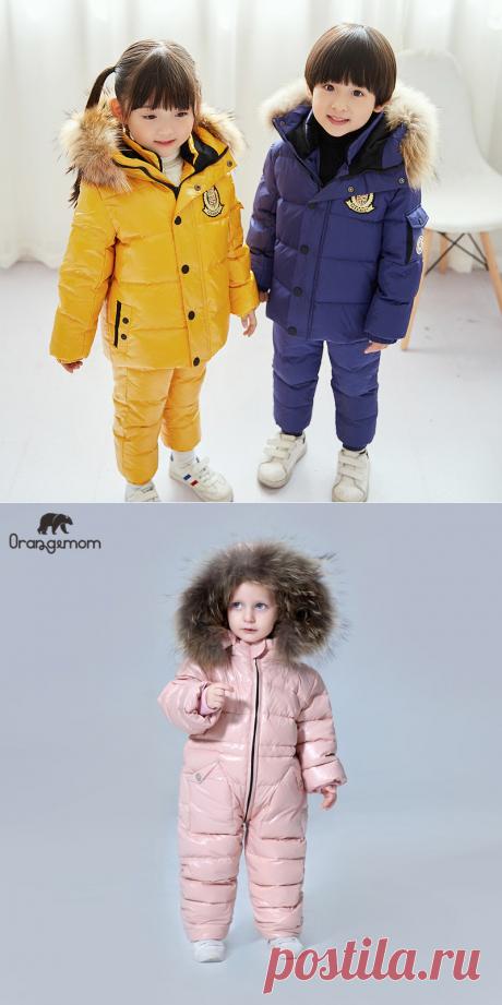 Детские зимние костюмы на возраст 1-6 лет на Алиэкспресс — Алиэкспресс Обзор