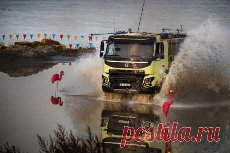 Реальное испытание для грузовика: #ПартнерскийПост