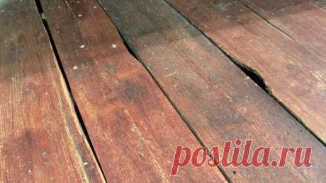 Чем заделать широкие дыры между досками на деревянном полу, чтобы линолеум не просел, а наливной пол не потрескался   Ремонт и быт   Пульс Mail.ru В современных условиях многим такие полы кажутся очень непрактичными (дует или просто не эстетичный вид, проваливаются под пол мелкие предметы) и...