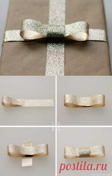 Красиво упаковываем подарки. Мини МК / Любимая Азия