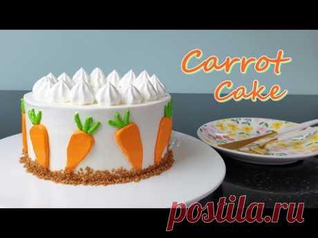 Как приготовить лучший морковный пирог / Рецепт / Влажный морковный пирог