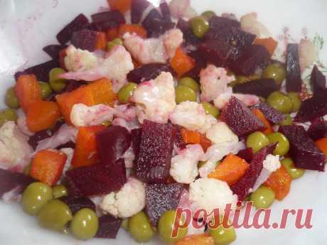 салат из цветной капусты(китайская кухня)