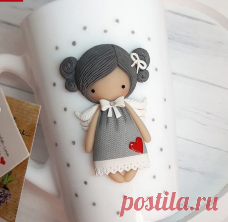 КРУЖКИ🌹 ЛОЖКИ🌹БРОШКИ🌹 в Instagram: «Милые девчоночки-ангелочки 🙏. Улетели в Пензенскую область😊 Как они мне нравятсяяяяя,такие славные малышки получились😉 В наличии нет…»