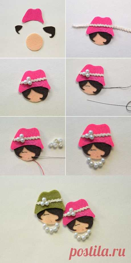 lovely beaded doll, wanna them? LC.Pandahall.com will release the tutorial soon. - Salvabrani