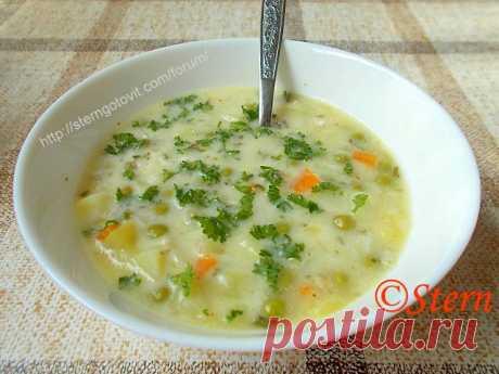 Суп овощной диетический «Не нужно завидовать»
