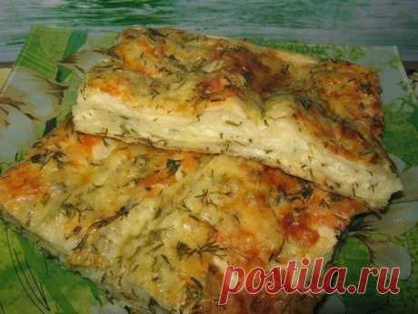 шеф-повар Одноклассники: Пирог сырный из лаваша