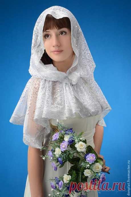 Платок для храма. Супер идея - красиво и удобно! » Женский Мир