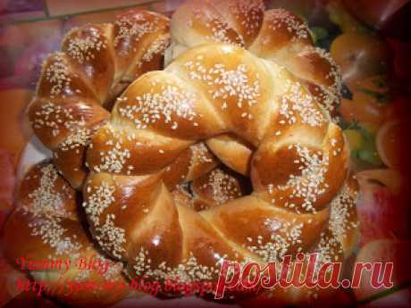 "Yummy Blog: Турецкие бублики ""Симиты"""