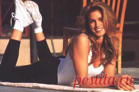Какими были занятия по аэробике в 90-х? Фитнес с Синди Кроуфорд. Видео - Чемпионат