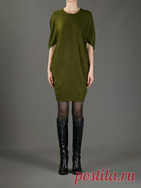 Платье-кокон по мотивам Gucci