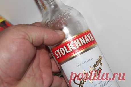 Сам не пью, но всегда покупаю водку, малоизвестные хитрости по ее применению | Генератор идей | Яндекс Дзен