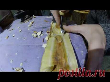 Мастер-класс на дому. Изготовление деревянной ложки в подарок