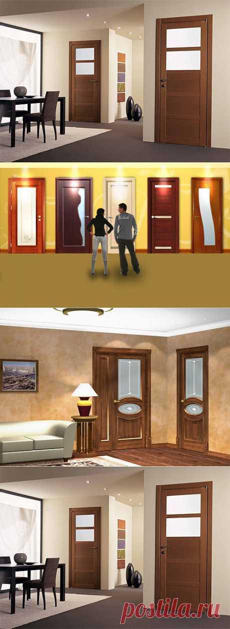 Межкомнатные двери, готовые или купленные на заказ.
