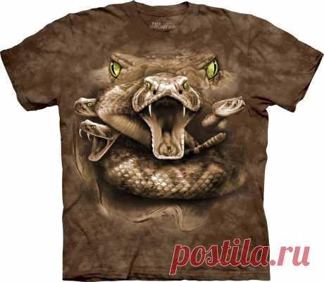АРТ № 103576 Футболка The Mountain - Snake Moon Eyes Бесшовная футболка -варенка 100% хлопок Размеры Детские S, M, L,XL  +  Взрослые  S, M, L,XL, XXL, XXXL, 4ХL,  4ХL Рисунок нанесен красками на водной основе. Не выгорает, не тянется