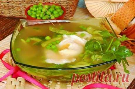 Японский огуречный суп / Простые рецепты