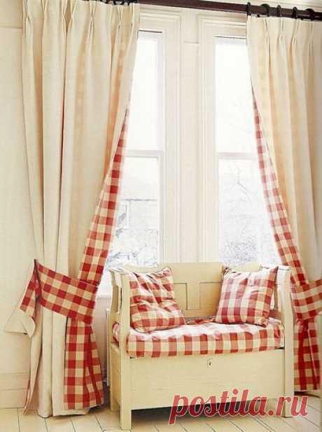 Как обновить старые шторы: 10 ярких решений — INMYROOM