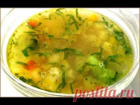 We prepare together: (Dietary soup)!! Very tasty!!