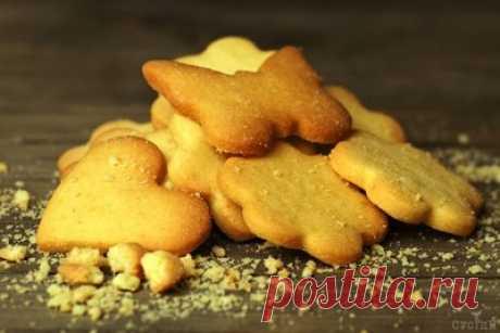 Простое песочное печенье на скорую руку - Печенье