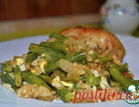 Зеленый гарнир – кулинарный рецепт