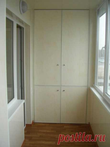 Как сделать встроенный шкаф на балконе своими руками - Сам себе мастер - медиаплатформа МирТесен