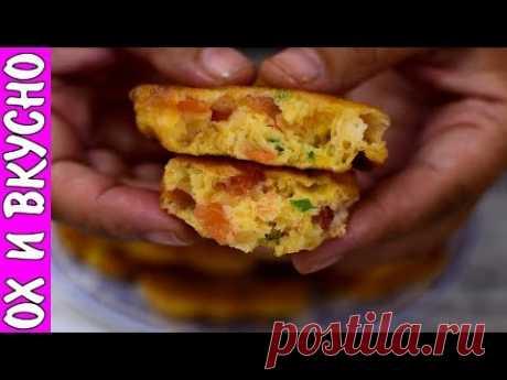 Вкуснота На Завтрак - Оладьи типа ленивой пиццы
