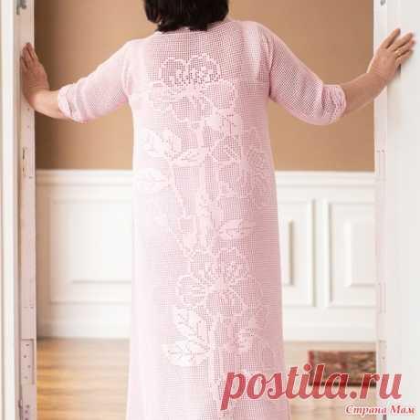 El vestido para las señoras sólidas, en la técnica de filete. - el país de las Mamás
