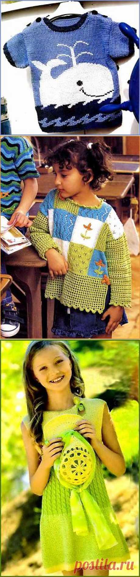 Вязание для малышей - Вязание для детей. Вязание спицами, крючком для малышей