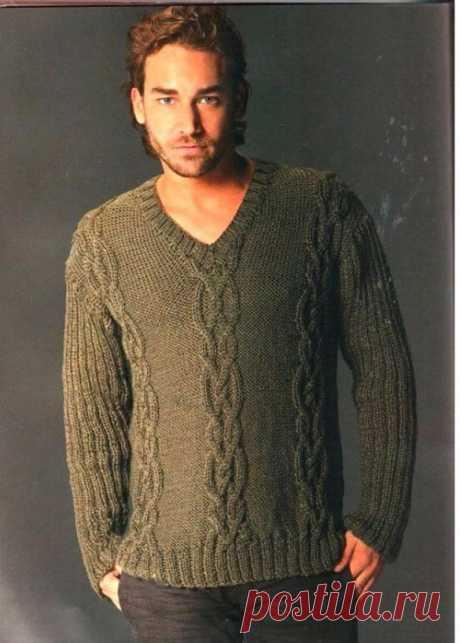 Men's Hand Knit Sweater 204B – KnitWearMasters