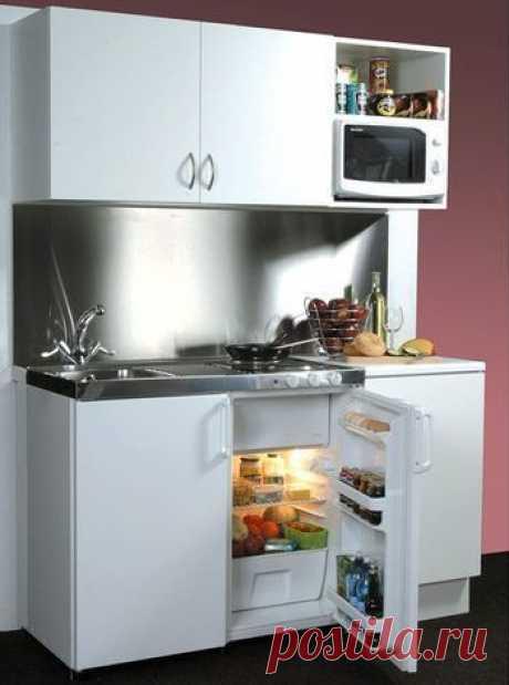 (+1) тема - Хитрости для малогабаритных кухонь | МОЙ ДОМ