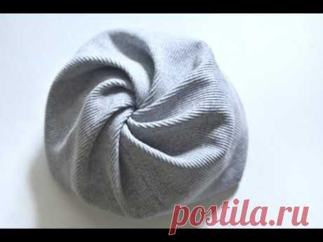 Как быстро сшить оригинальную шапку на весну для девочки
