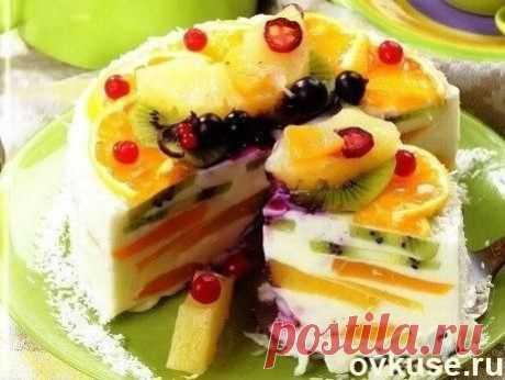 Творожный торт «Волшебный» - Простые рецепты Овкусе.ру